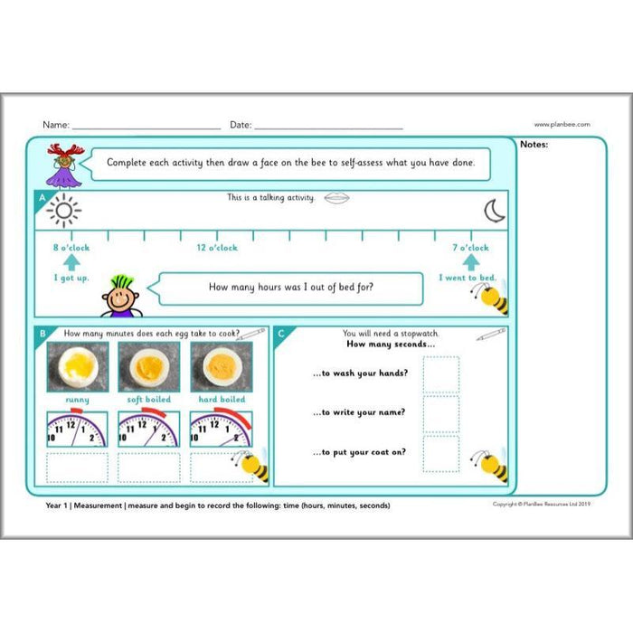 PlanBee KS1 Maths Assessment Sheets | Maths Resources from PlanBee