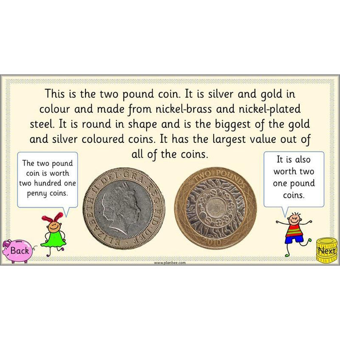 Can you recognise coins?