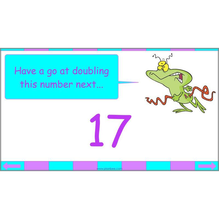 PlanBee Seeing Doubles - Doubling and Halving Year 4 Maths Lesson Planning