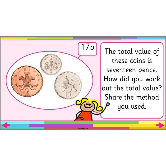 PlanBee Let's make totals using coins 1 -  Year 1 Key Stage 1 Maths plans