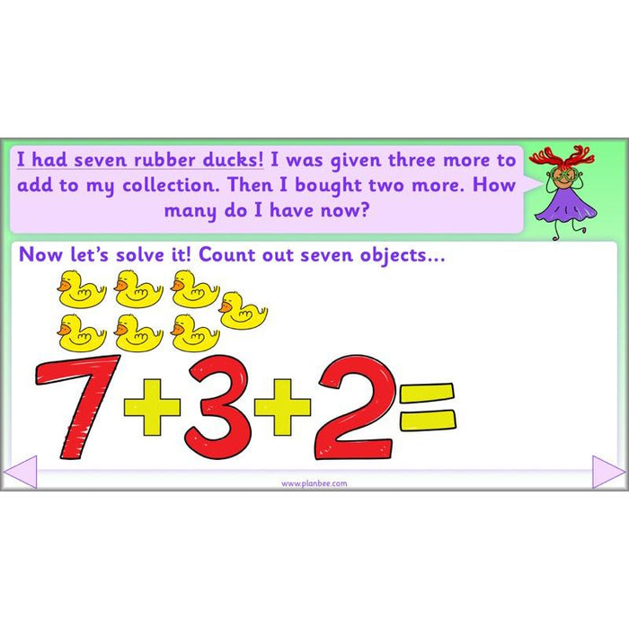 Let's Add and Subtract Objects