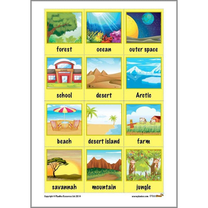 PlanBee KS1 English Home Learning Activities for Year 1 & Year 2