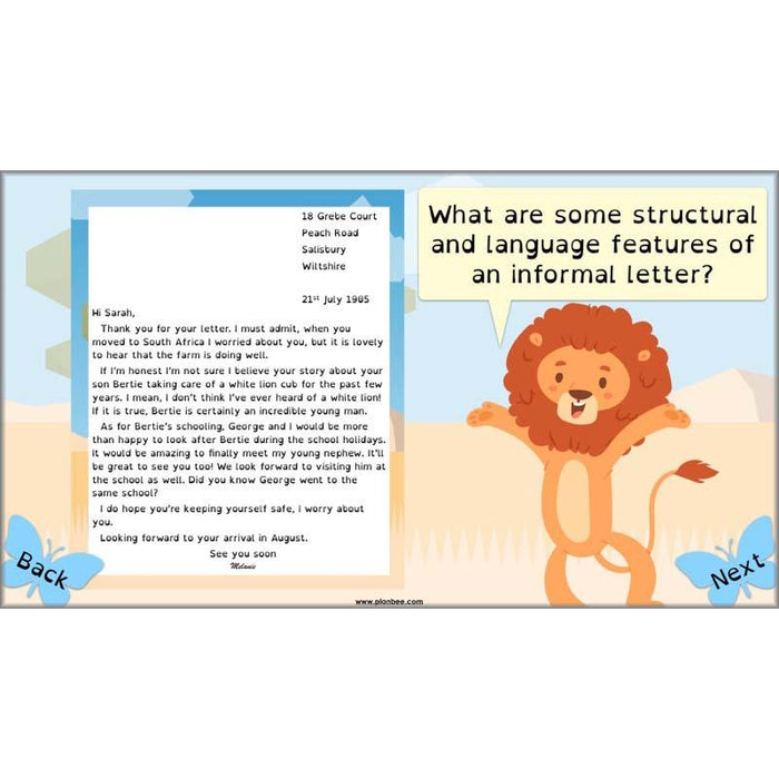 The Butterfly Lion English Pack