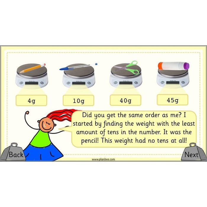 PlanBee Let's Measure Weight - KS1 - Year 2 Maths - Measurement