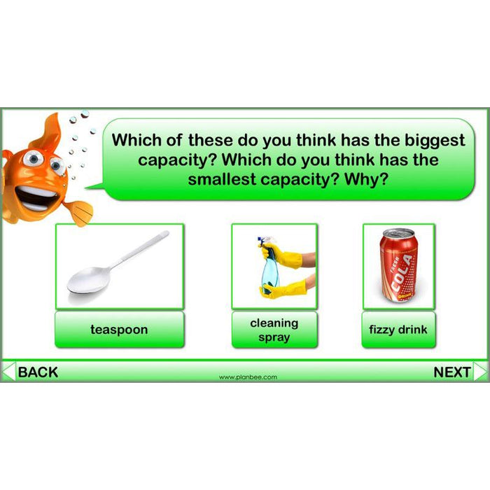 PlanBee What is Capacity? KS2 Maths Measurement Planning Year 3