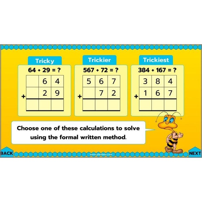 PlanBee Let's Add and Subtract: Maths Lesson Plans and Resources Year 3