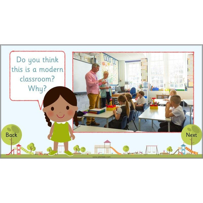 PlanBee Childhood Then and Now: Primary History for KS1