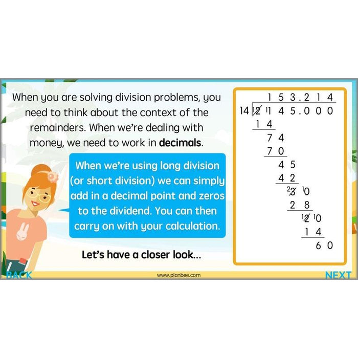 More Multiplication and Division
