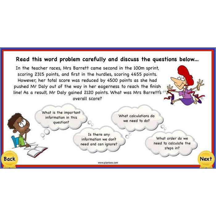Using Addition and Subtraction 2
