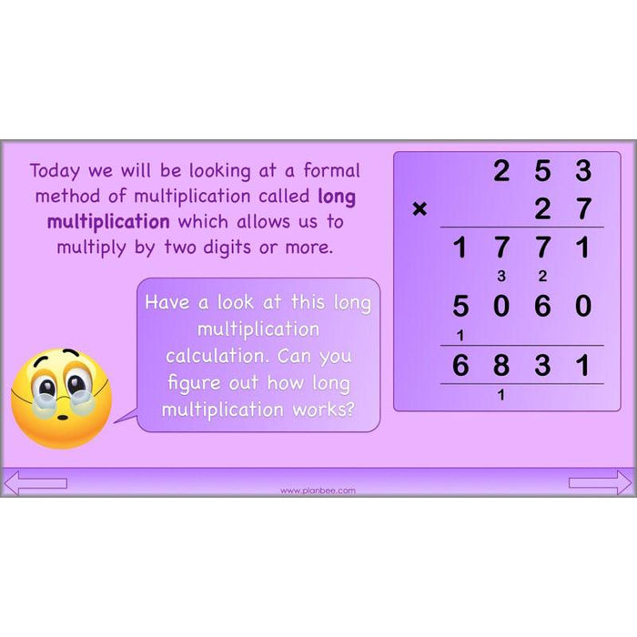 Formal Multiplication