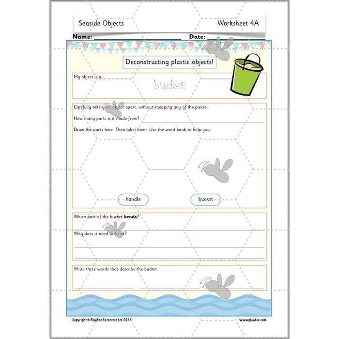 PlanBee Year 1 Science Materials and their Properties by PlanBee