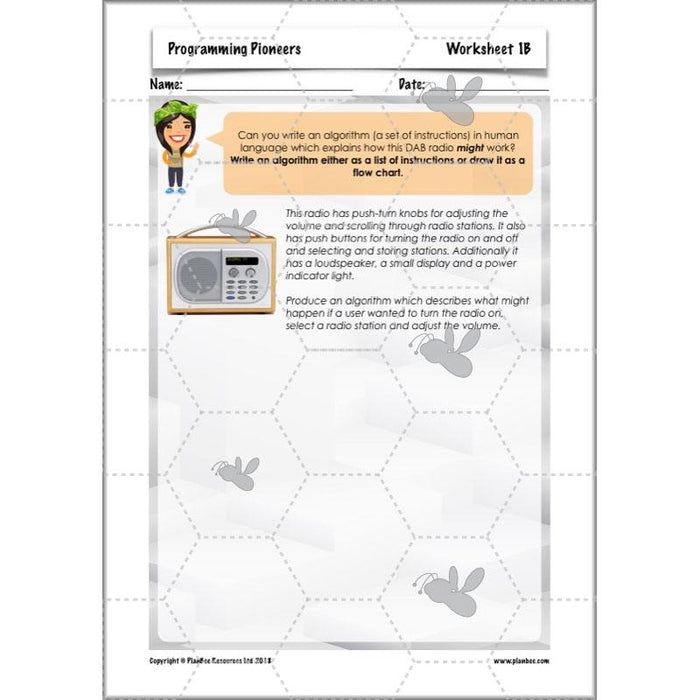 PlanBee Programming Pioneers Coding KS2 DT by PlanBee