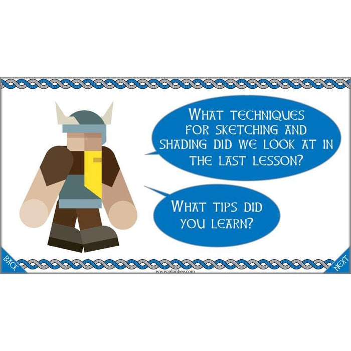 PlanBee Viking Art KS2 Lessons | Year 5 and Year 6 Art by PlanBee