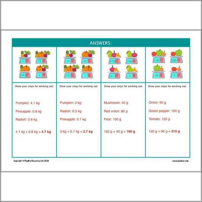 PlanBee KS2 Maths Home Learning Activites for Year 5 & Year 6
