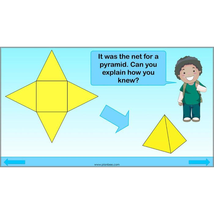 PlanBee 3D Shape and Space Year 3 Maths Lessons by PlanBee