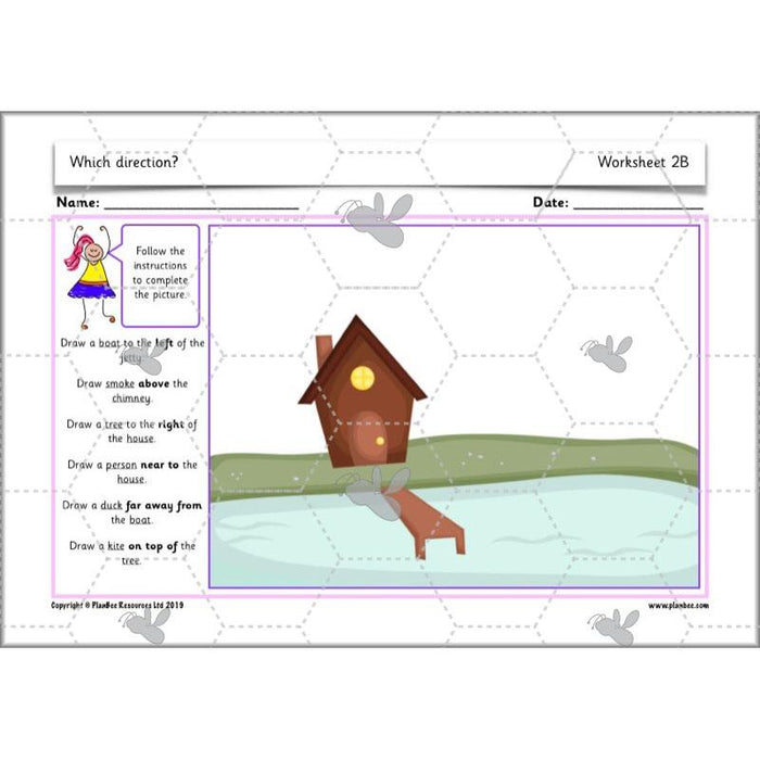 PlanBee Position and Direction Year 1 Maths Lessons by PlanBee