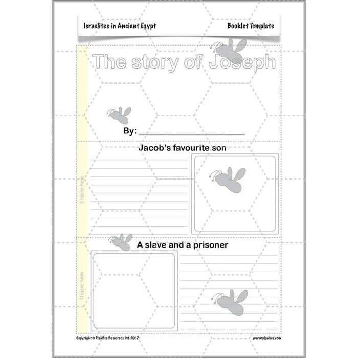 PlanBee Israelites in Ancient Egypt - KS2 RE Lesson Plans & Resources