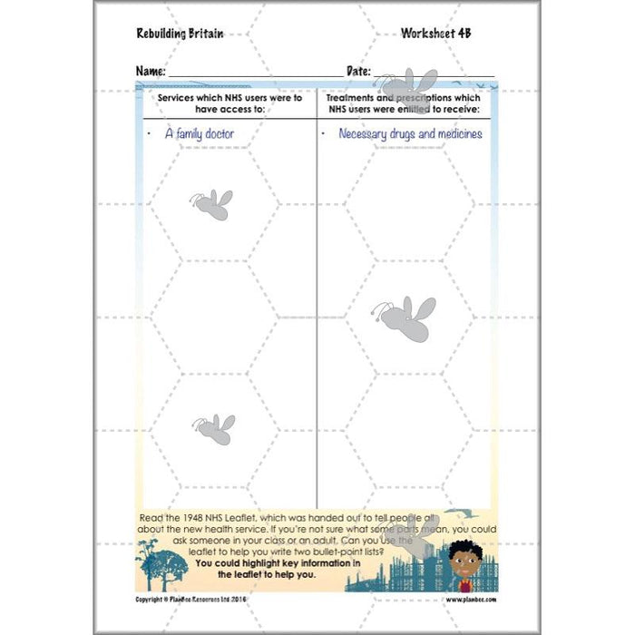 PlanBee Two Week Pack of One Off Lessons KS2 by PlanBee