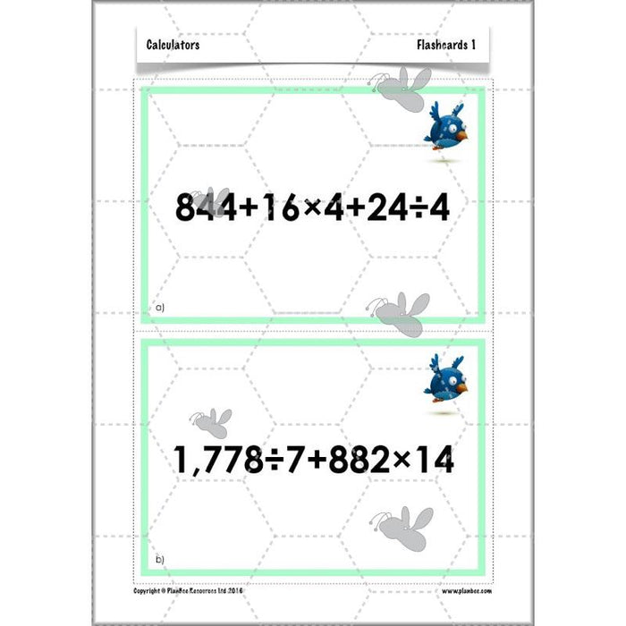 PlanBee Calculators - Year 6 Complete Maths Planning and Resources by PlanBee