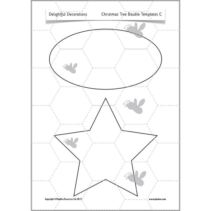 PlanBee Delightful Decorations KS1 DT Lessons by PlanBee