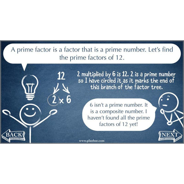 Factors, Multiples and Primes