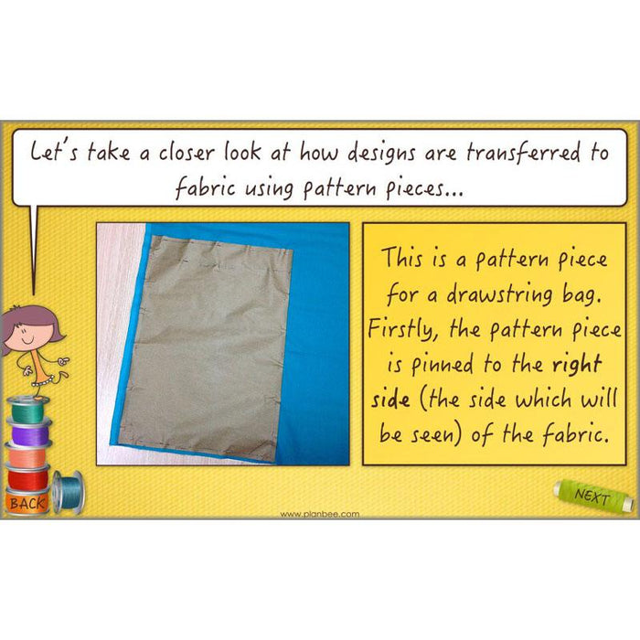 PlanBee Fashion and Textiles: Design and Technology KS2