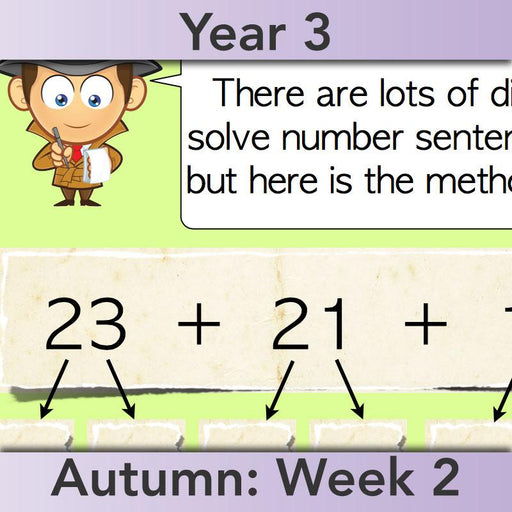 PlanBee Investigating Number Facts: Maths Addition and Subtraction KS2 Year 3
