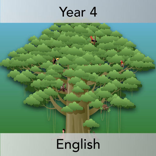 PlanBee The Great Kapok Tree Planning Year 4 | PlanBee