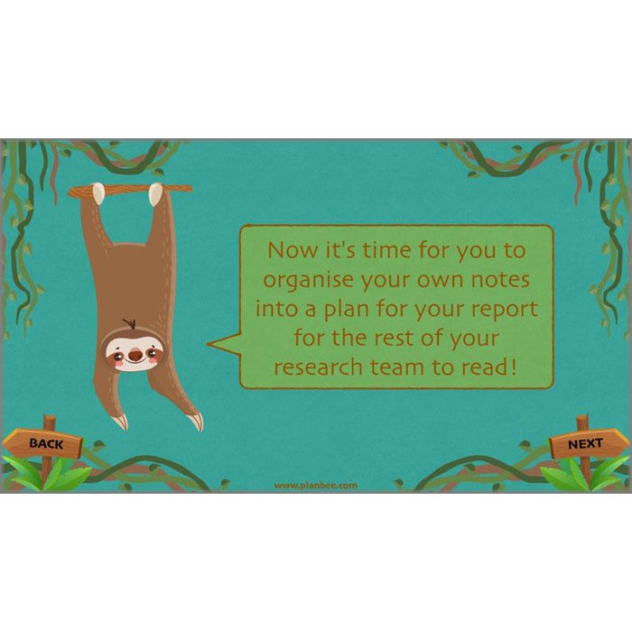 PlanBee Lost in the Rainforest: Non-chronological Reports KS2 English Plans & Resources