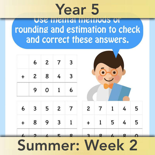 PlanBee Mental & Written Addition - Year 5 Maths Planning - PlanBee