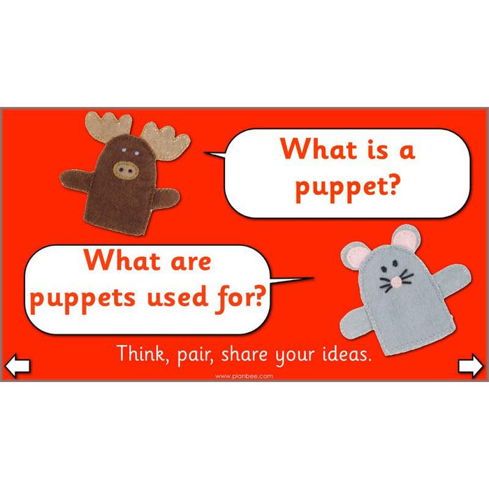 PlanBee Puppets KS1 DT Lesson Planning Pack for Year 2