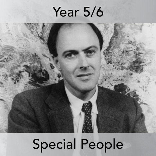 PlanBee Roald Dahl Biography KS2 | Special People Lesson Pack by PlanBee