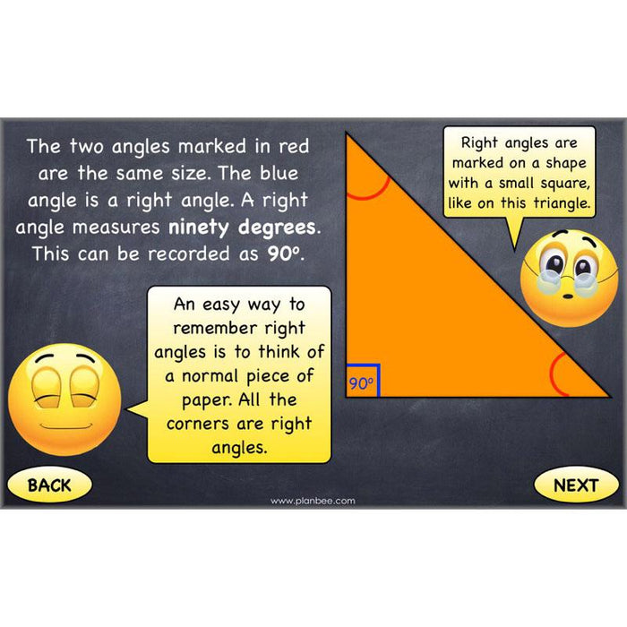 PlanBee Shapes and Angles Year 3 Maths Lessons by PlanBee
