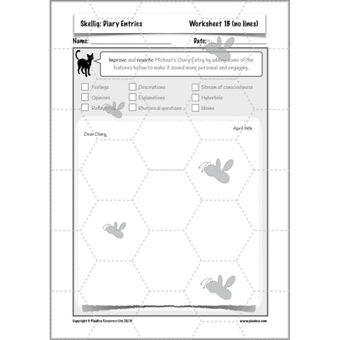 PlanBee Skellig Scheme of Work | KS2 English Planning for Year 6