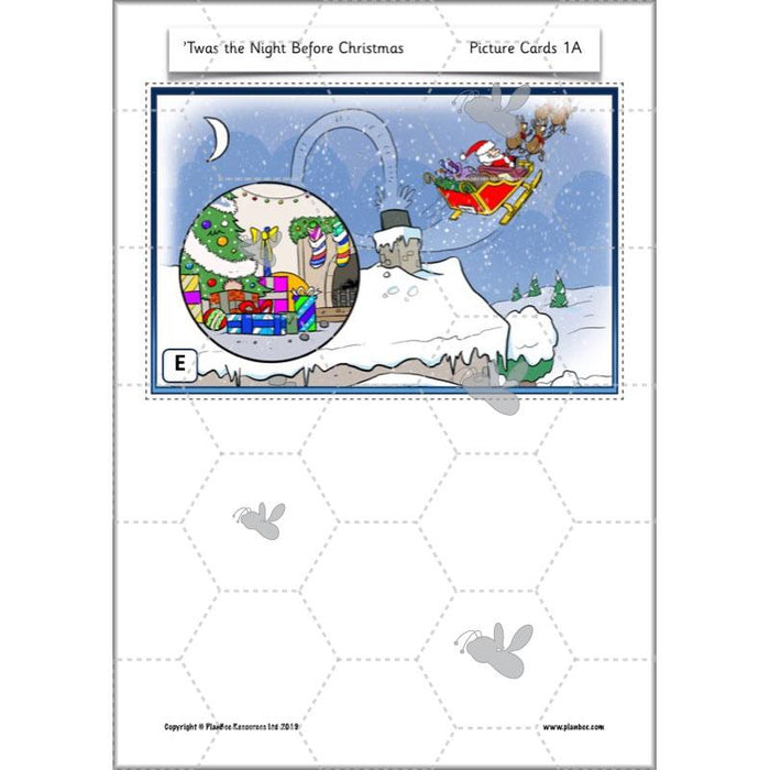 PlanBee Twas the Night Before Christmas Lesson Plans | Year 2 Poetry