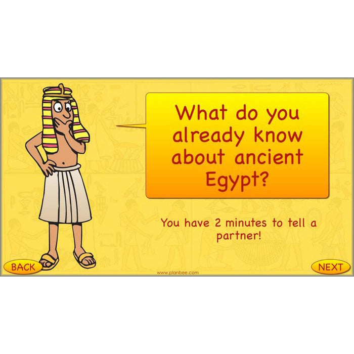 What can we find out about ancient Egypt?