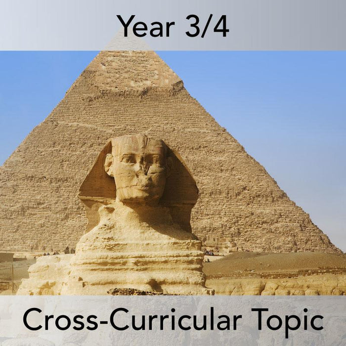 PlanBee Ancient Egyptians KS2 Topic | Ancient Egypt Year 3/4 lessons