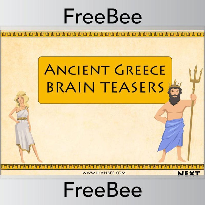 Ancient Greece Brain Teasers