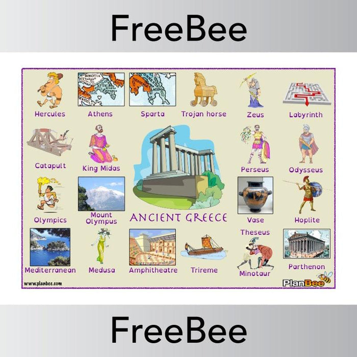 Ancient Greece Word Bank