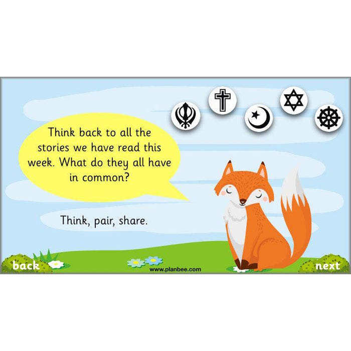 PlanBee Animal Stories Year 1/2 Planning Pack | KS1 RE Planning