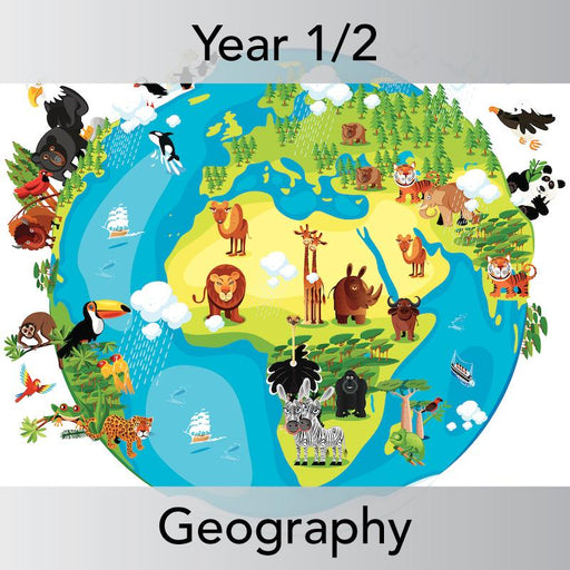 PlanBee Animals Around the World KS1 Geography - PlanBee
