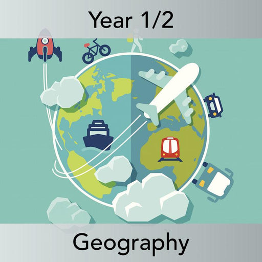 PlanBee Continents of the World KS1 | Around the World Year 1 and Year 2