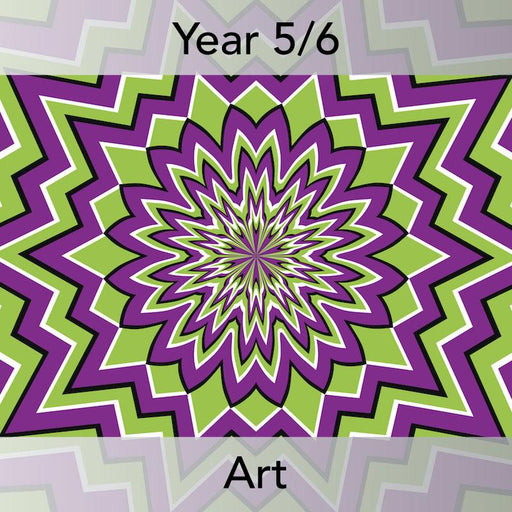 PlanBee Art Illusions KS2 illusion art and op art lessons | PlanBee
