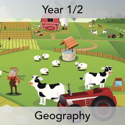 PlanBee At the Farm Geography lesson plans for KS1: Year 1 & Year 2