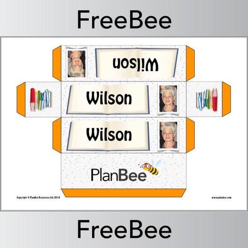 PlanBee Free Authors Group Name Labels | PlanBee