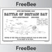 PlanBee FREE Battle of Britain Poster created by PlanBee