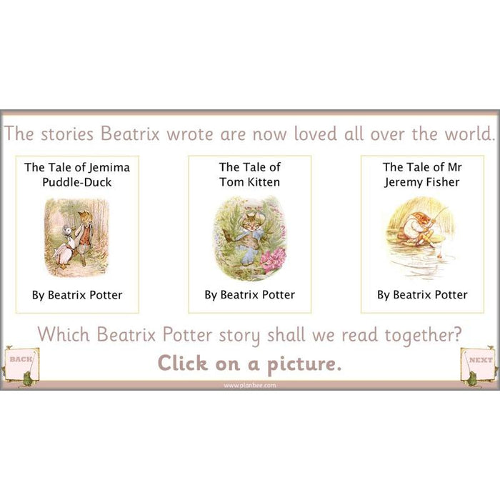 PlanBee Beatrix Potter KS1 Lesson Plans and Resources by PlanBee
