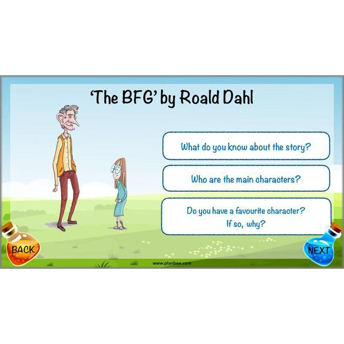 The BFG: Character Description
