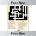 PlanBee Books of the Bible Crossword | PlanBee FreeBees