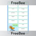 PlanBee Free Bird Anagrams | PlanBee FreeBees